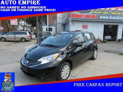2016 Nissan Versa Note for sale at Auto Empire in Brooklyn NY