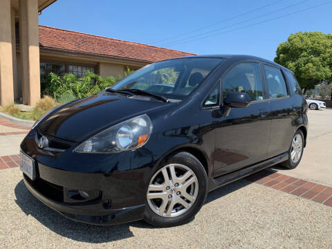 2007 Honda Fit for sale at Auto Hub, Inc. in Anaheim CA