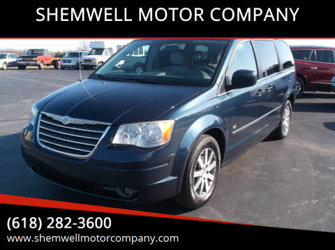 2009 Chrysler Town and Country for sale at SHEMWELL MOTOR COMPANY in Red Bud IL