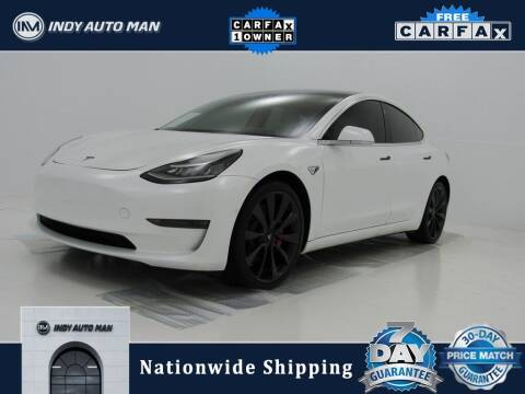 2020 Tesla Model 3 for sale at INDY AUTO MAN in Indianapolis IN