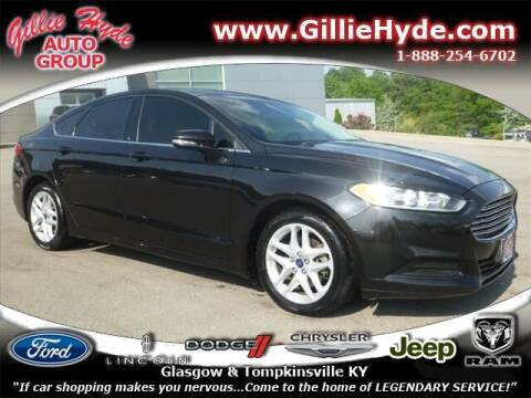 2015 Ford Fusion for sale at Gillie Hyde Auto Group in Glasgow KY