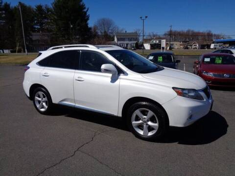 2012 Lexus RX 350 for sale at BETTER BUYS AUTO INC in East Windsor CT