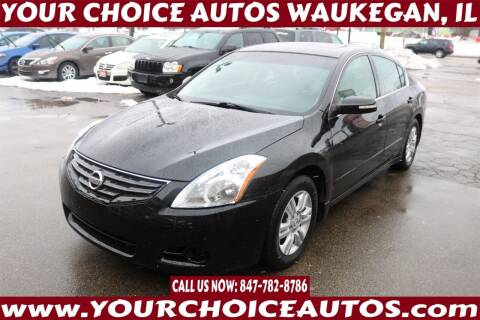 2012 Nissan Altima for sale at Your Choice Autos - Waukegan in Waukegan IL