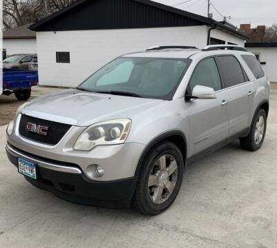 2007 GMC Acadia for sale at GOOD NEWS AUTO SALES in Fargo ND