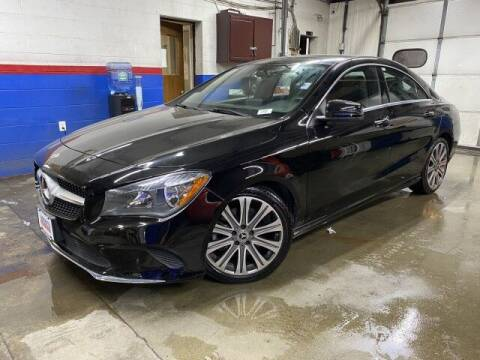 2018 Mercedes-Benz CLA for sale at Sonias Auto Sales in Worcester MA