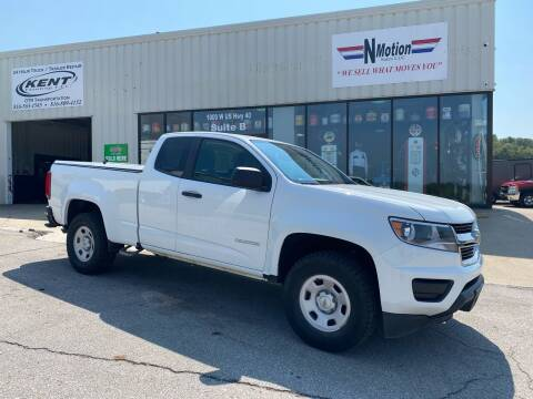 2019 Chevrolet Colorado for sale at N Motion Sales LLC in Odessa MO