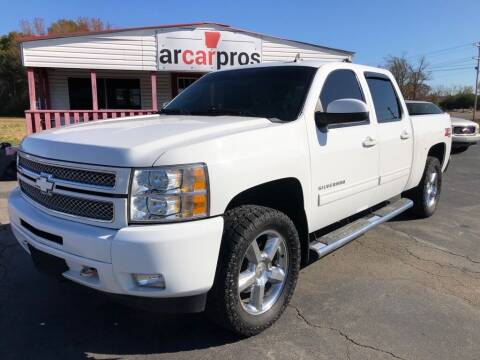 2013 Chevrolet Silverado 1500 for sale at Arkansas Car Pros in Cabot AR