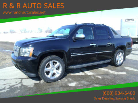 2011 Chevrolet Avalanche for sale at R & R AUTO SALES in Juda WI