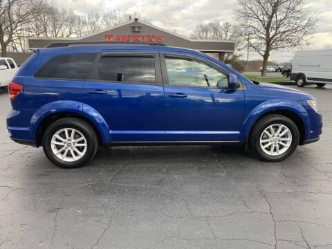 2015 Dodge Journey for sale at Hawkins Motors Sales in Hillsdale MI