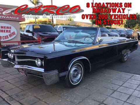 1967 Chrysler 300 for sale at CARCO SALES & FINANCE in Chula Vista CA