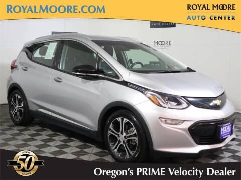2018 Chevrolet Bolt EV for sale at Royal Moore Custom Finance in Hillsboro OR