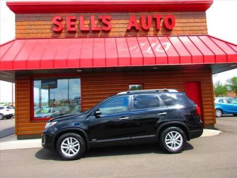 2014 Kia Sorento for sale at Sells Auto INC in Saint Cloud MN