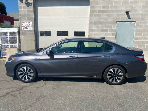 2017 Honda Accord Hybrid for sale at Pafumi Auto Sales in Indian Orchard MA