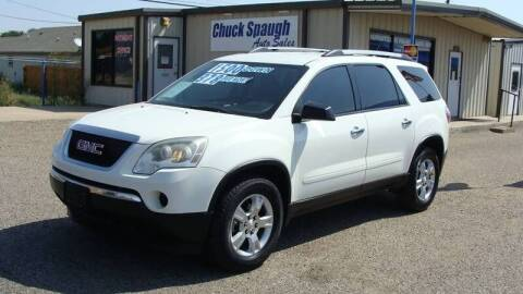 2011 GMC Acadia for sale at Chuck Spaugh Auto Sales in Lubbock TX