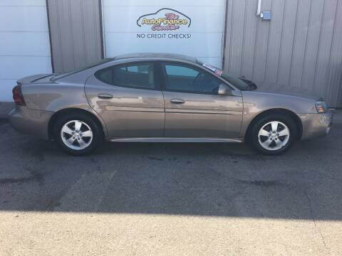 2006 Pontiac Grand Prix for sale at The AutoFinance Center in Rochester MN