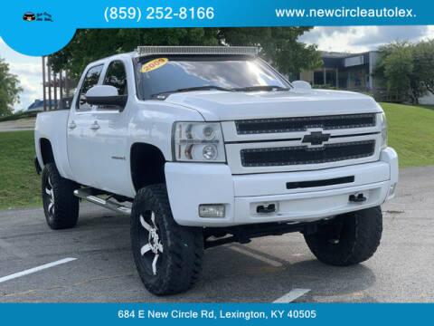 2009 Chevrolet Silverado 2500HD for sale at New Circle Auto Sales LLC in Lexington KY