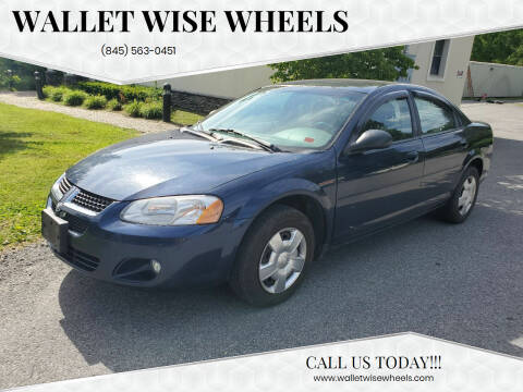 2005 Dodge Stratus for sale at Wallet Wise Wheels in Montgomery NY