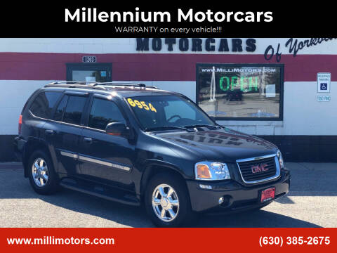 2003 GMC Envoy for sale at Millennium Motorcars in Yorkville IL