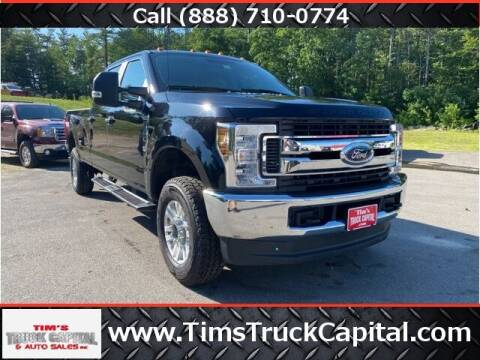 2019 Ford F-350 Super Duty for sale at TTC AUTO OUTLET/TIM'S TRUCK CAPITAL & AUTO SALES INC ANNEX in Epsom NH