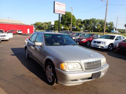 1999 Mercedes-Benz C-Class for sale at Marty's Auto Sales in Savage MN