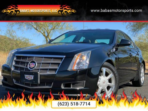 2008 Cadillac CTS for sale at Baba's Motorsports, LLC in Phoenix AZ