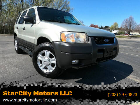 2003 Ford Escape for sale at StarCity Motors LLC in Garden City ID