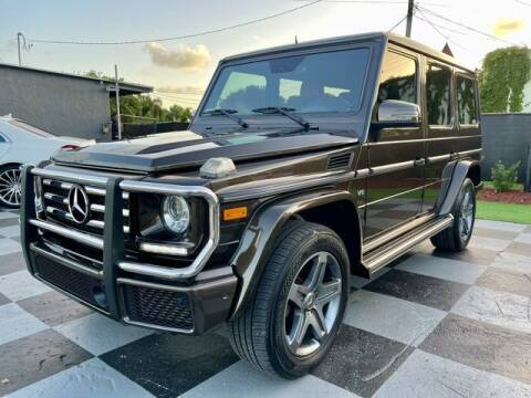 2016 Mercedes-Benz G-Class for sale at Imperial Capital Cars Inc in Miramar FL