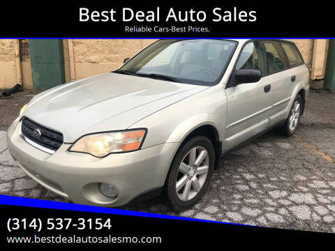 2006 Subaru Outback for sale at Best Deal Auto Sales in Saint Charles MO