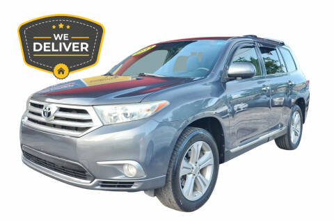 2013 Toyota Highlander for sale at ALWAYSSOLD123 INC in North Miami Beach FL