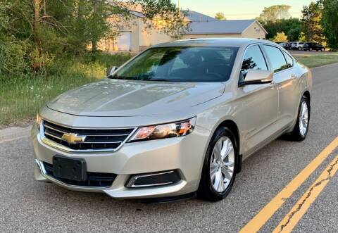 2015 Chevrolet Impala for sale at You Win Auto in Metro MN