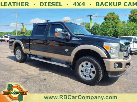 2012 Ford F-250 Super Duty for sale at R & B CAR CO - R&B CAR COMPANY in Columbia City IN