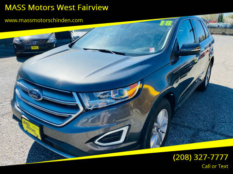2018 Ford Edge for sale at MASS Motors West Fairview in Boise ID