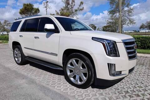 2015 Cadillac Escalade for sale at Progressive Motors in Pompano Beach FL