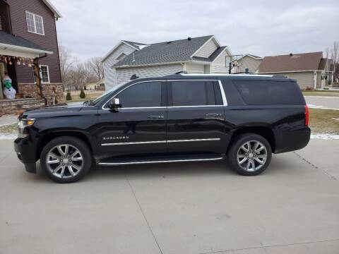 2017 Chevrolet Suburban for sale at GOOD NEWS AUTO SALES in Fargo ND