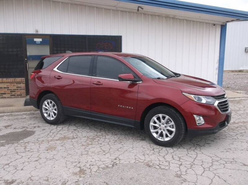 2018 Chevrolet Equinox for sale at AUTO TOPIC in Gainesville TX