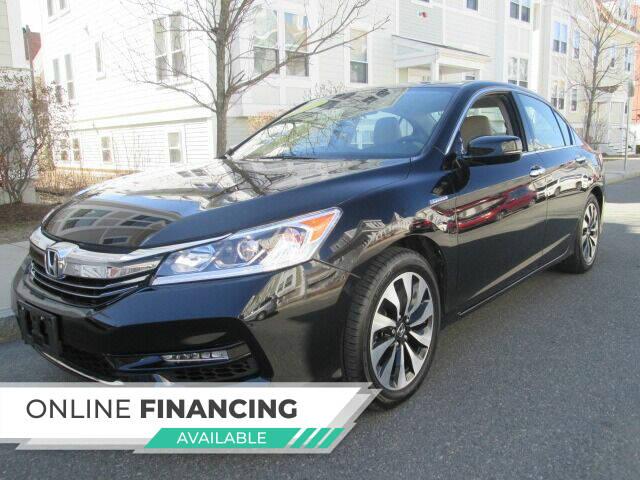2017 Honda Accord Hybrid for sale at Boston Auto Sales in Brighton MA