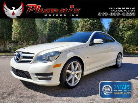 2012 Mercedes-Benz C-Class for sale at Phoenix Motors Inc in Raleigh NC