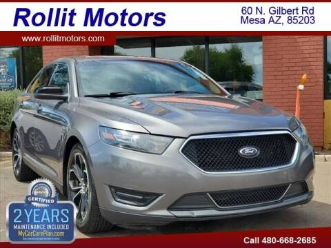 2014 Ford Taurus for sale at Rollit Motors in Mesa AZ