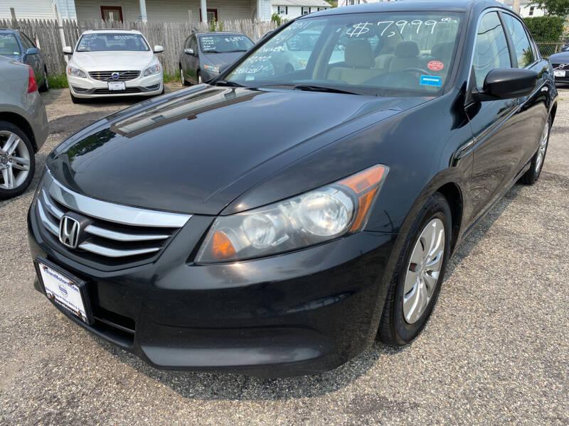 2011 Honda Accord for sale at Volare Motors in Cranston RI