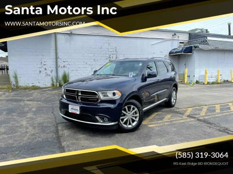 2018 Dodge Durango for sale at Santa Motors Inc in Rochester NY
