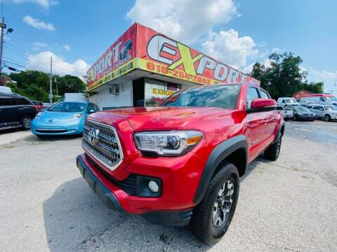 2017 Toyota Tacoma for sale at EXPORT AUTO SALES, INC. in Nashville TN