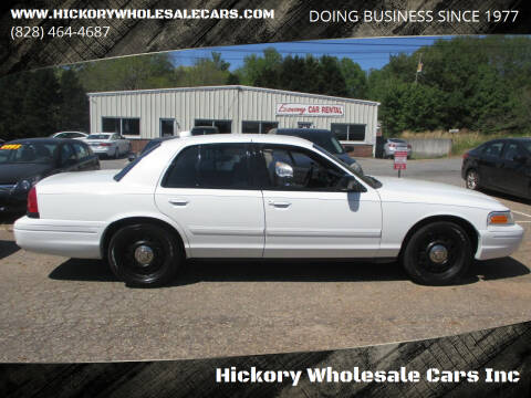 2009 Ford Crown Victoria for sale at Hickory Wholesale Cars Inc in Newton NC