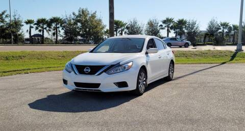 2017 Nissan Altima for sale at FLORIDA USED CARS INC in Fort Myers FL