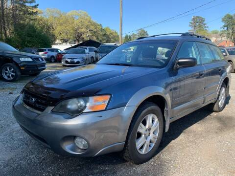2005 Subaru Outback for sale at ATLANTA AUTO WAY in Duluth GA