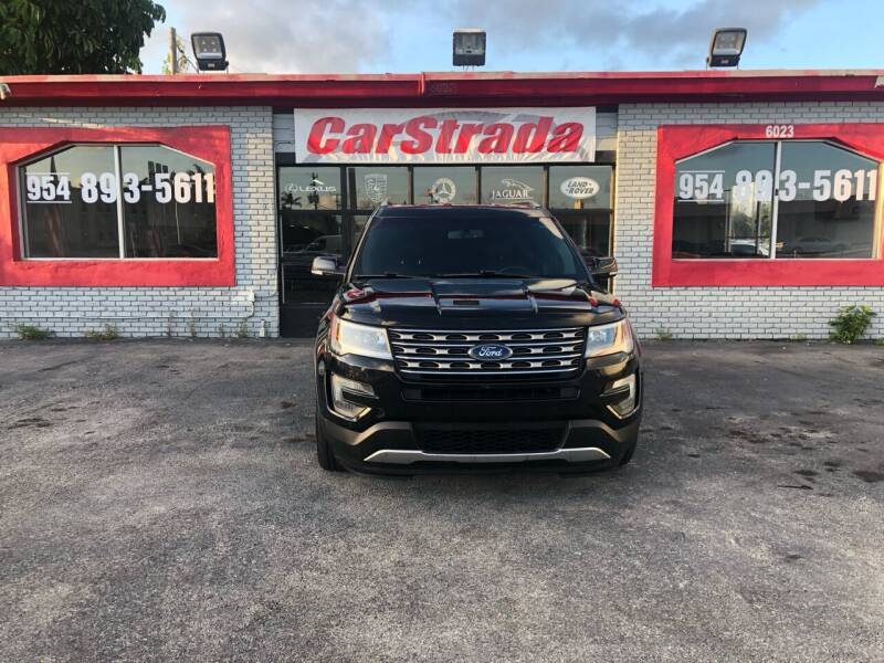 2016 Ford Explorer for sale at CARSTRADA in Hollywood FL