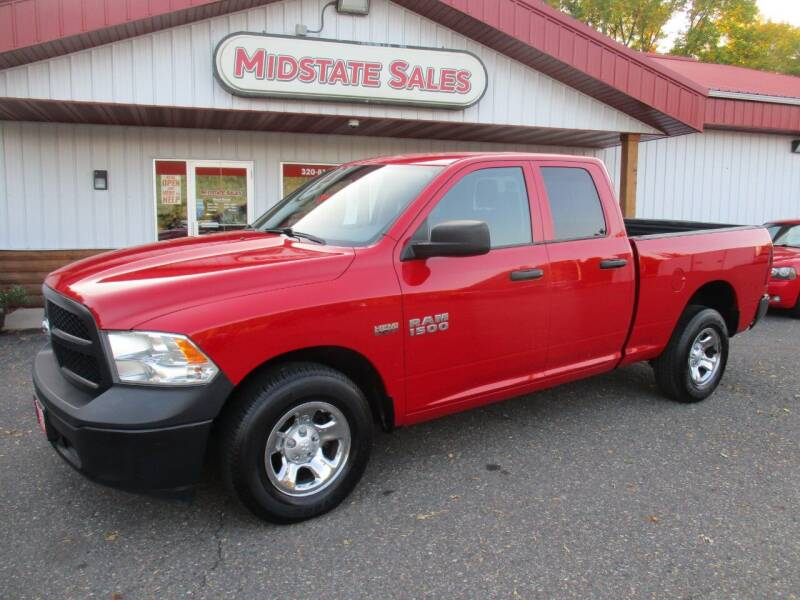 2016 RAM Ram Pickup 1500 for sale at Midstate Sales in Foley MN
