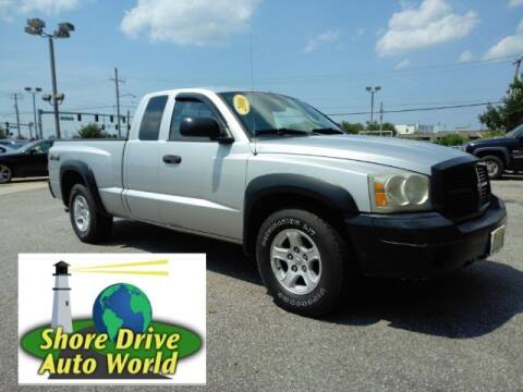 2006 Dodge Dakota for sale at Shore Drive Auto World in Virginia Beach VA