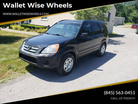 2006 Honda CR-V for sale at Wallet Wise Wheels in Montgomery NY