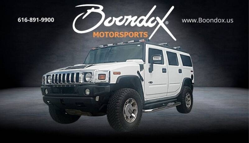 2008 HUMMER H2 for sale at Boondox Motorsports in Caledonia MI