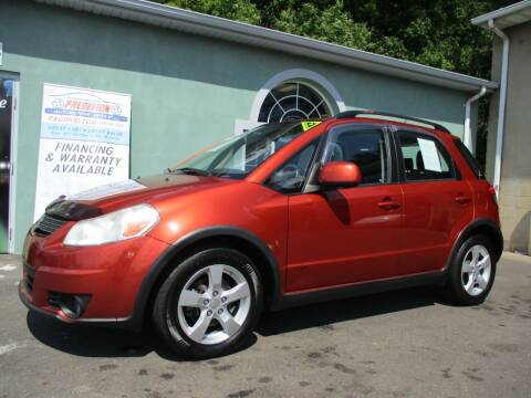 2012 Suzuki SX4 Crossover for sale at Precision Automotive Group in Youngstown OH